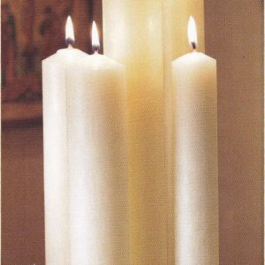 """Will and Baumer"" Altar Candles"